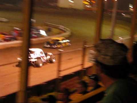 Vintage Car Feature Belle-Clair Speedway 8-7-09