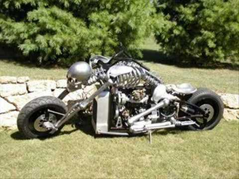 Bad Skeleton Motorcycle Designermite.net
