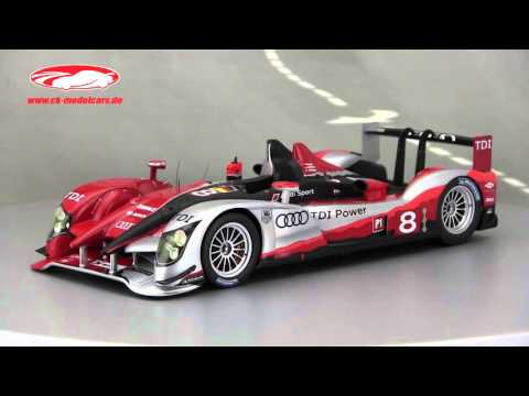 ck-modelcars-video: Audi R15 TDI #8 2nd 24h LeMans 2010 Spark