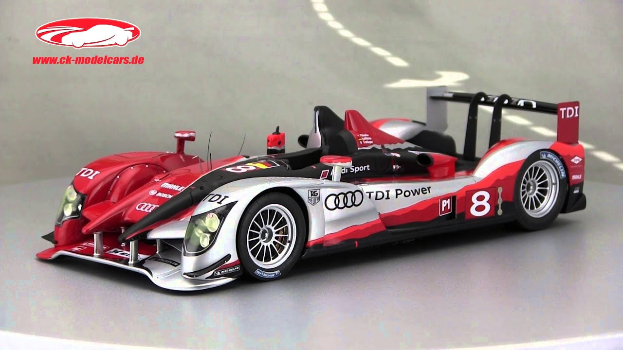 Ck Modelcars Video Audi R15 Tdi 8 2nd 24h Lemans 2010