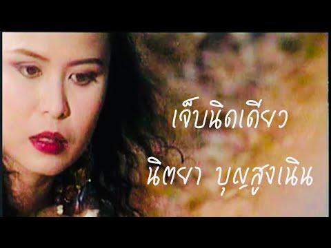 เจ็บนิดเดียว | นิตยา บุญสูงเนิน [Original MV Official]