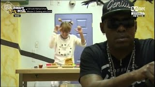 Video [Eng Sub] BTS Funny Moment: Rap Monster & V Cook For Coolio And Getting Chewed Out download MP3, 3GP, MP4, WEBM, AVI, FLV Juli 2018