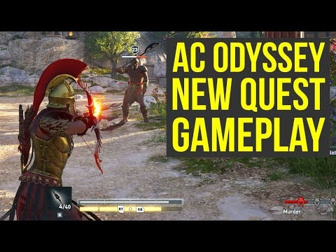 Assassin's Creed Odyssey Gameplay NEW QUEST Shows Choices & More (AC Odyssey Gameplay) thumbnail