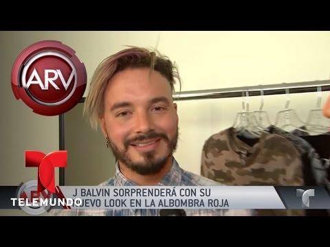 J Balvin sorprenderá con su look en los Billboard | Al Rojo Vivo | Telemundo