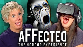 ADULTS PLAY OCULUS RIFT - AFFECTED: THE MANOR (Adults React: Gaming) thumbnail