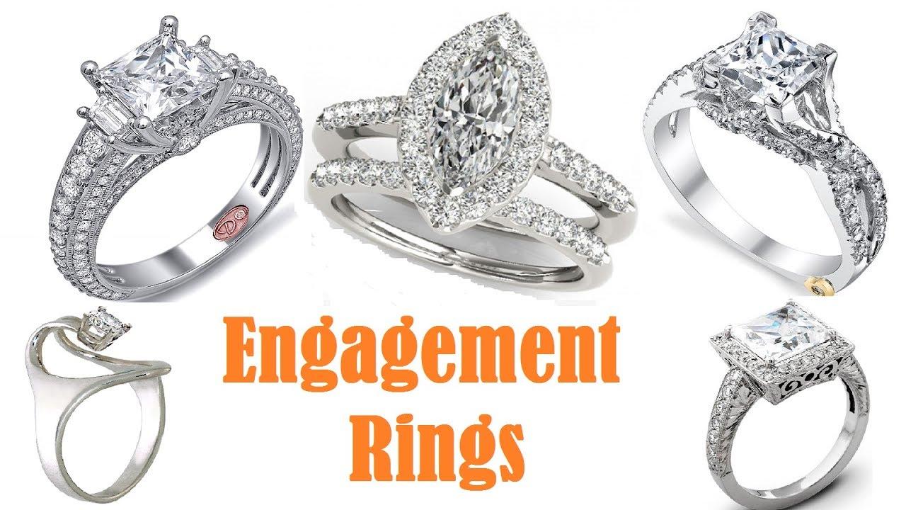 Unique diamond engagement rings designs 2017 // latest diamond ...