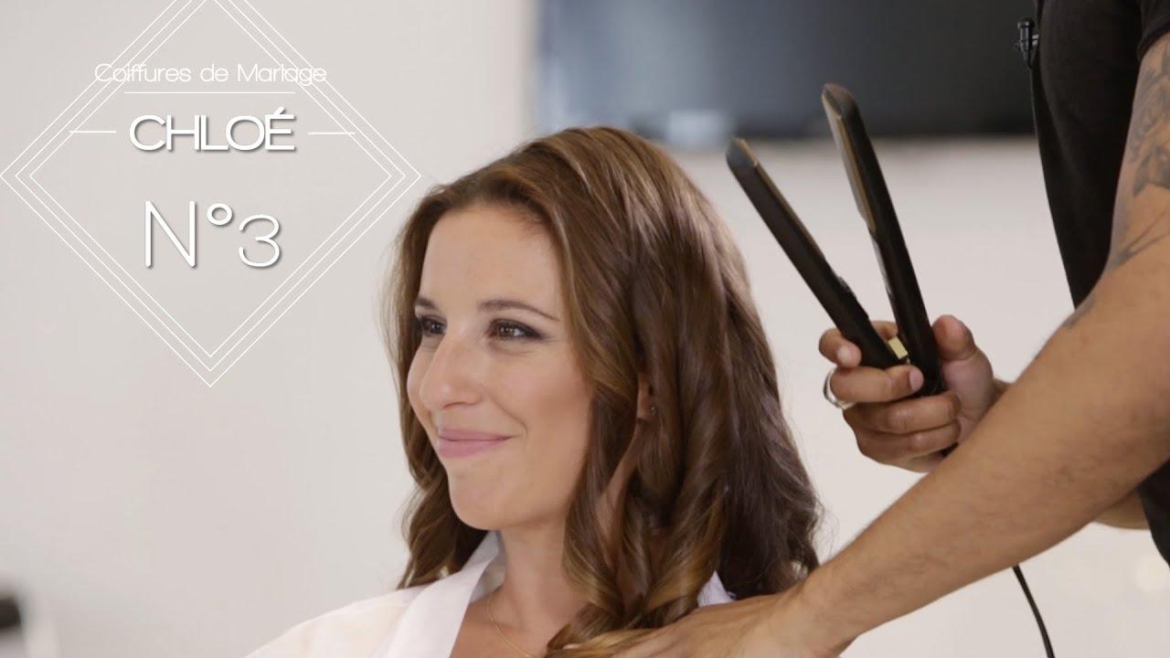 Le wavy  une coiffure de mariage tendance