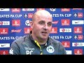 Wigan 1-0 Manchester City - Paul Cook Full Post Match Press Conference - FA Cup