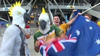 Mondial: réaction des supporters après Danemark -Australie