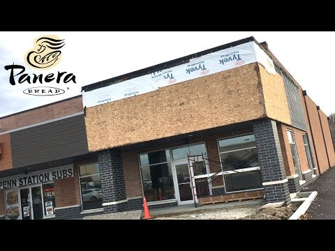 Abandoned Panera Bread at Belden Place ... maybe remodeling?