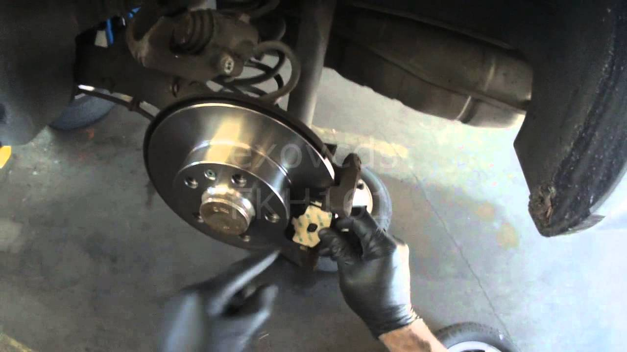 Vw A4 Rear Disc Brakes Dragging Getting Hot Not A