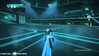 Tron Evolution Walkthrough - Multiplayer Capture the Bit Match