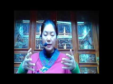 Zhineng Qigong Healing - Ling Ling Wang from Dali retreat  09.12.17
