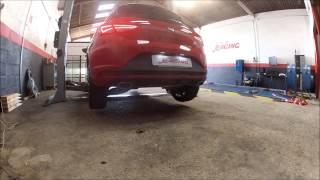 Le Mans Auto Racing : Ligne Akrapovic sur Seat Leon Cupra 280 ch