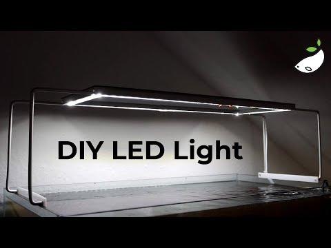 DIY LED Aquarium Lighting - HOW TO