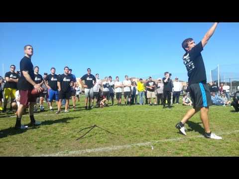 Miami Dolphins Kicker Caleb Sturgis - NFL Training