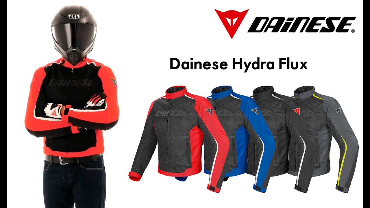 2a9828d5b9a Chaqueta impermeable Dainese Hydra Flux D DRY® - YouTube