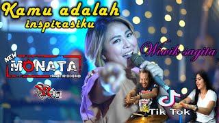 Download lagu NEW MONATA - KAMU ADALAH INSPIRASIKU (COVER) WIWIK SAGITA
