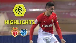 AS Monaco - ESTAC Troyes (3-2) - Highlights - (ASM - ESTAC) / 2017-18