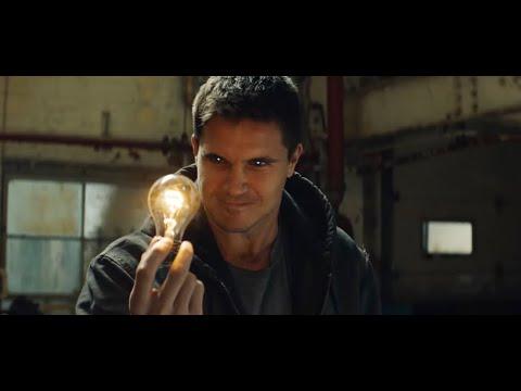 Люди со сверхспособностями грабят копов - Сцена из фильма - КОД 8