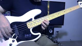 Pnuema Bass Cover with Tab: Squier Contemporary Active Jazz bass HH