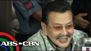 What Erap thinks on Bernard as son-in-law