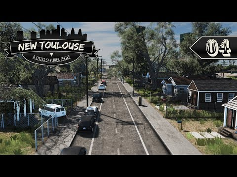 Cities Skylines: New Toulouse - 04 - Shotgun Houses & Indust
