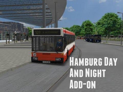 Omsi Bus Simulator: Hamburg Day And Night Add-on |