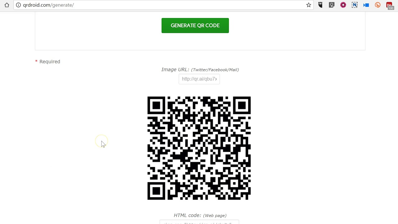 How to add QR codes to Google Documents