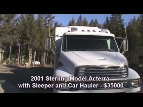 Sale2001 Sterling Acterra Sleeper Haulercomparable Acura