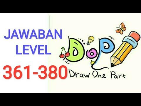 Jawaban Draw One Part Dop Level 361 380 Youtube