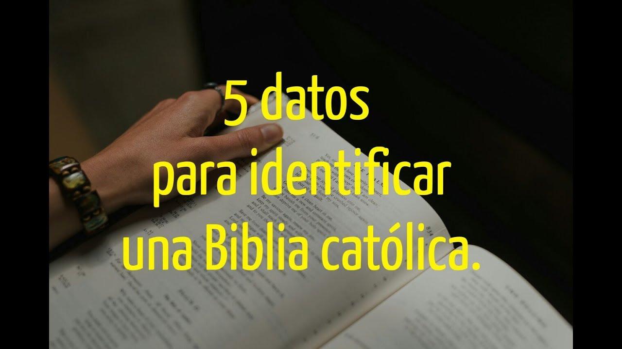 ¿CÓMO SABER SI UNA BIBLIA ES CATÓLICA? Explicación de un