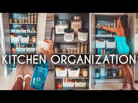 Kitchen ORGANIZATION IDEAS & Deep Clean