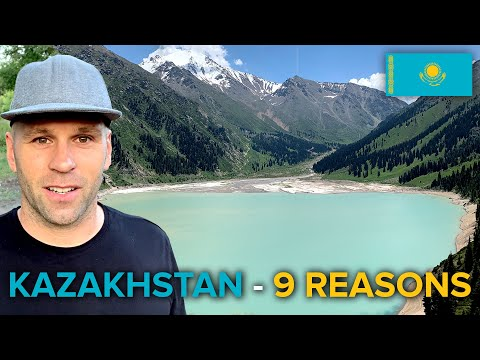 9 Reasons Why YOU SHOULD TRAVEL to KAZAKHSTAN 🇰🇿 (pусские субтитры)