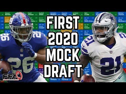 2020 Fantasy Football Mock Draft | First Mock Draft! | Half PPR | 11th Pick