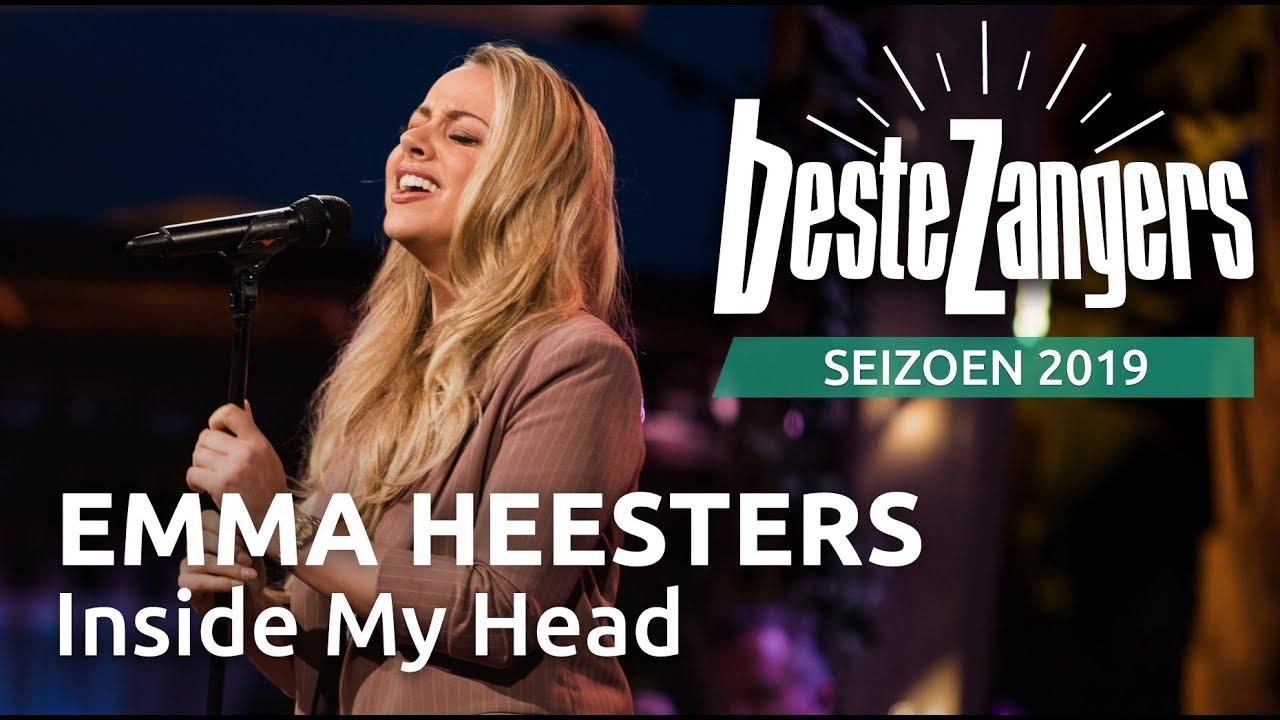 Emma Heesters Inside My Head Beste Zangers 2019 Youtube