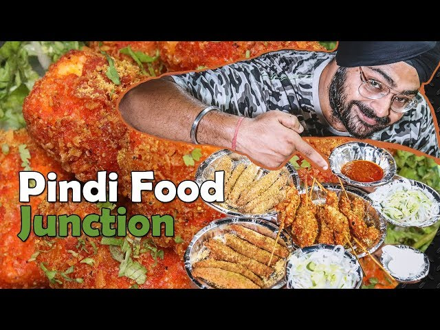 Best SOYA CHAP food in Delhi | Pindi Food Junction, Geeta Colony, New Delhi