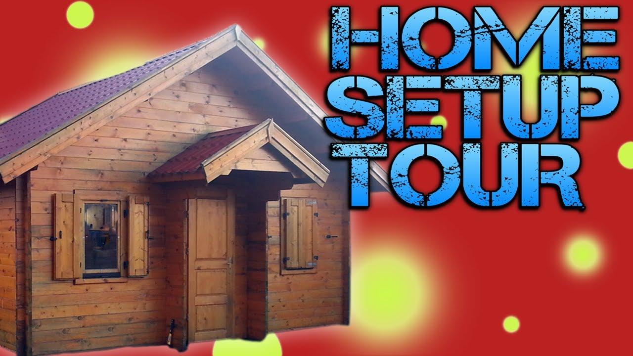 Vlog  HOME SETUP TOUR  Where and How I Record  YouTube