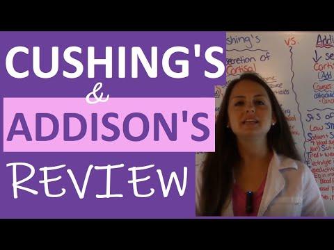 Cushings and Addisons Nursing  Addisons Disease vs Cushings Syndrome Nursing  Endocrine