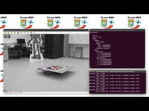 Simple AprilTag Tracking - Zenmuse X3 Camera