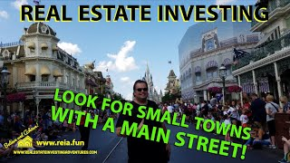 Real Estate Investing in Main Street USA! Value in small towns!