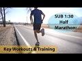 HOW TO RUN A SUB 1:30 HALF MARATHON: Tra