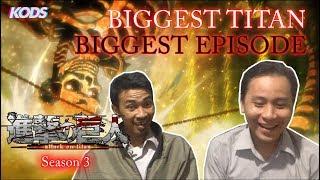 Nonton Lagi [Attack On Titan S3] #7 Pulang Ngantor, Episode Paling Seru