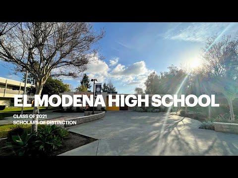 El Modena High School Class of 2021 - Scholars of Distinction