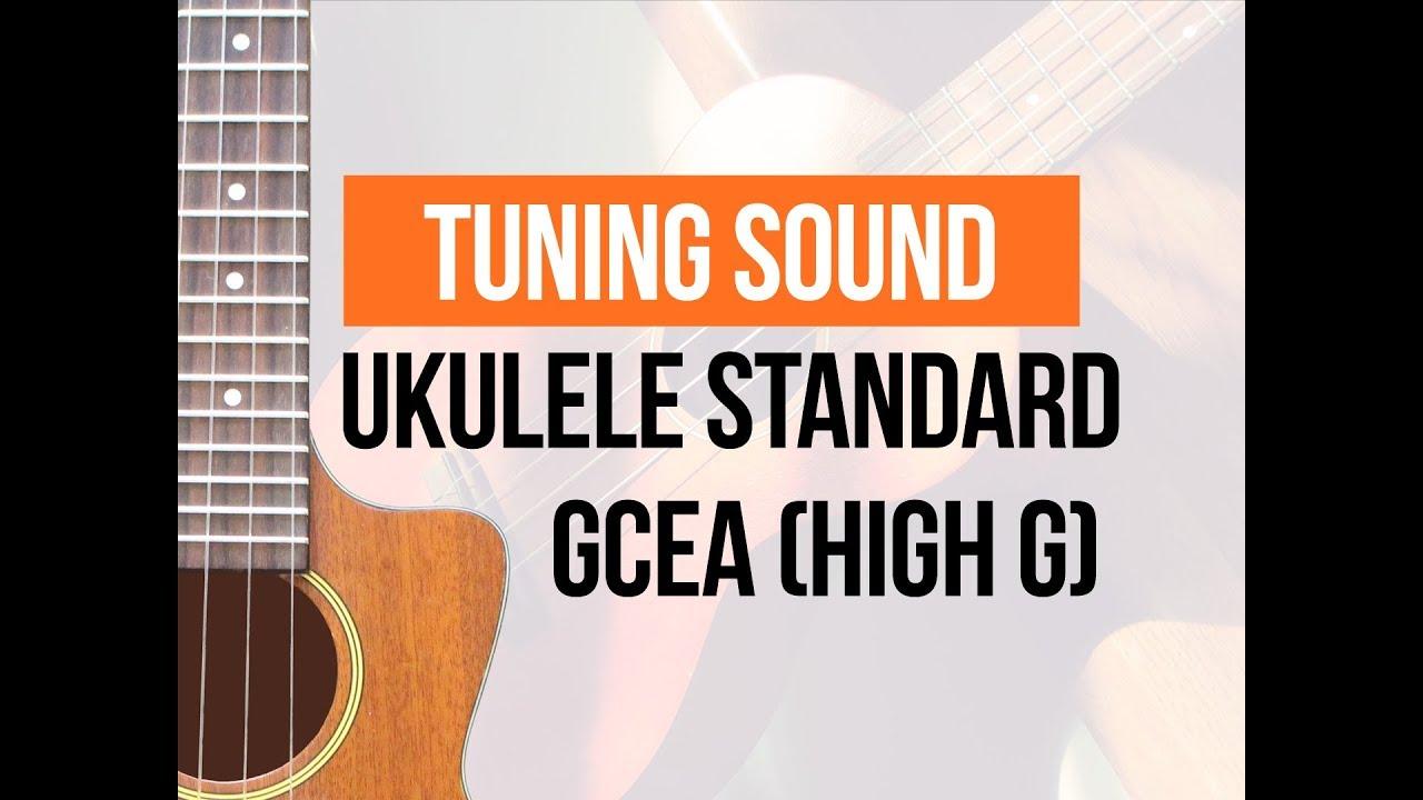 standard ukulele tuning high g c6 sound of loose strings youtube. Black Bedroom Furniture Sets. Home Design Ideas