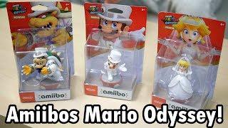 UNBOXING - AMIIBOS SUPER MARIO ODYSSEY!