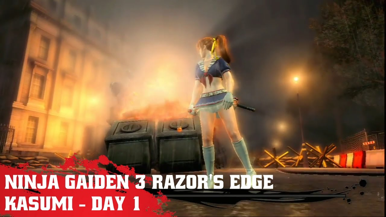Ps3 Ninja Gaiden 3 Razor S Edge Kasumi Day 1 Youtube