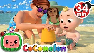 Beach Song + More Nursery Rhymes & Kids Songs - CoCoMelon thumbnail