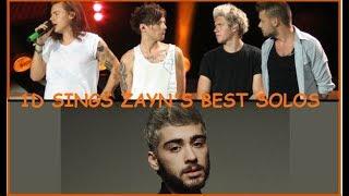 One Direction (4/4) Singing Zayn