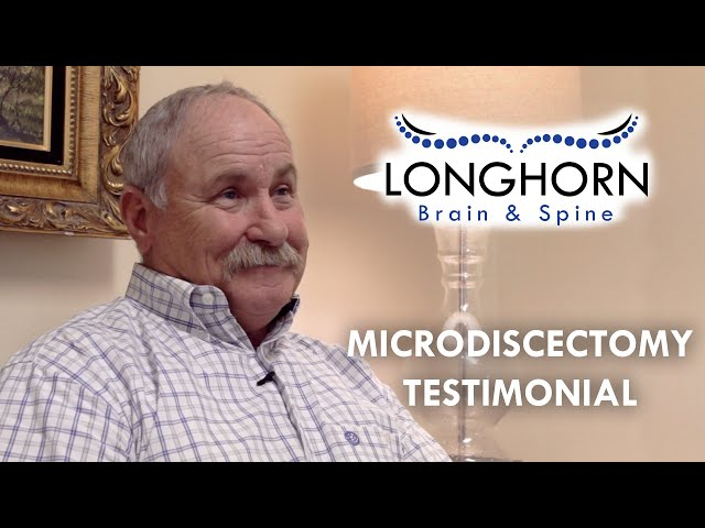Longhorn Brain and Spine - Microdiscectomy Testimonial